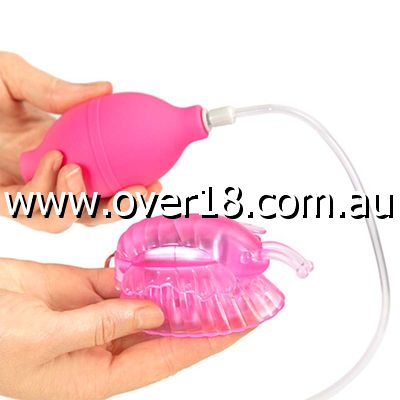 Aphrodisia Butterfly Vibrating Clitoral Pump