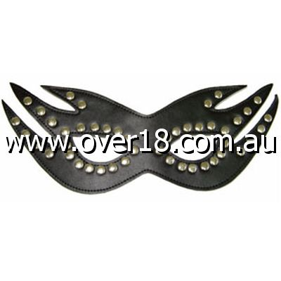 Risque Boutique Feline Mask with Studs Light